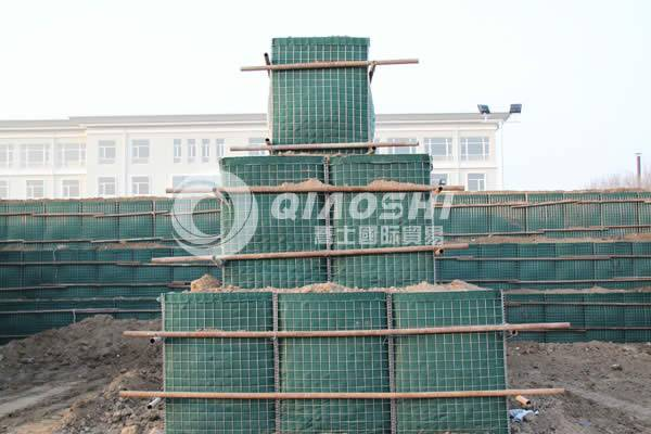 Defend | Hesco military barrier wall Qiaoshi