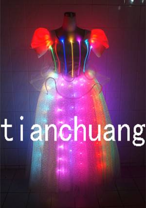 LED Light Dance Costumes/Stage Performance