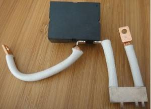 Magnetic key relay