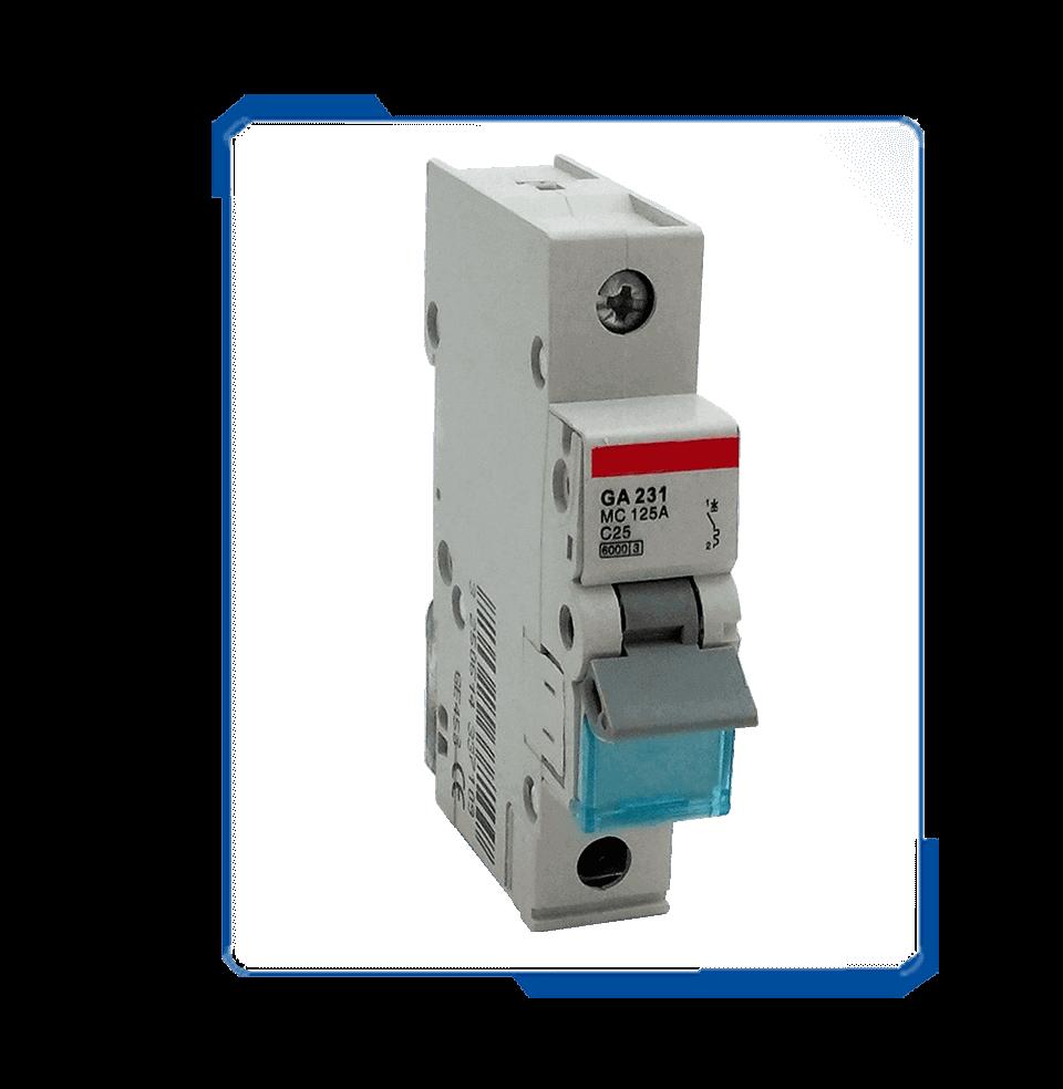 MC 1 pole electric 230v arc fault circuit breaker