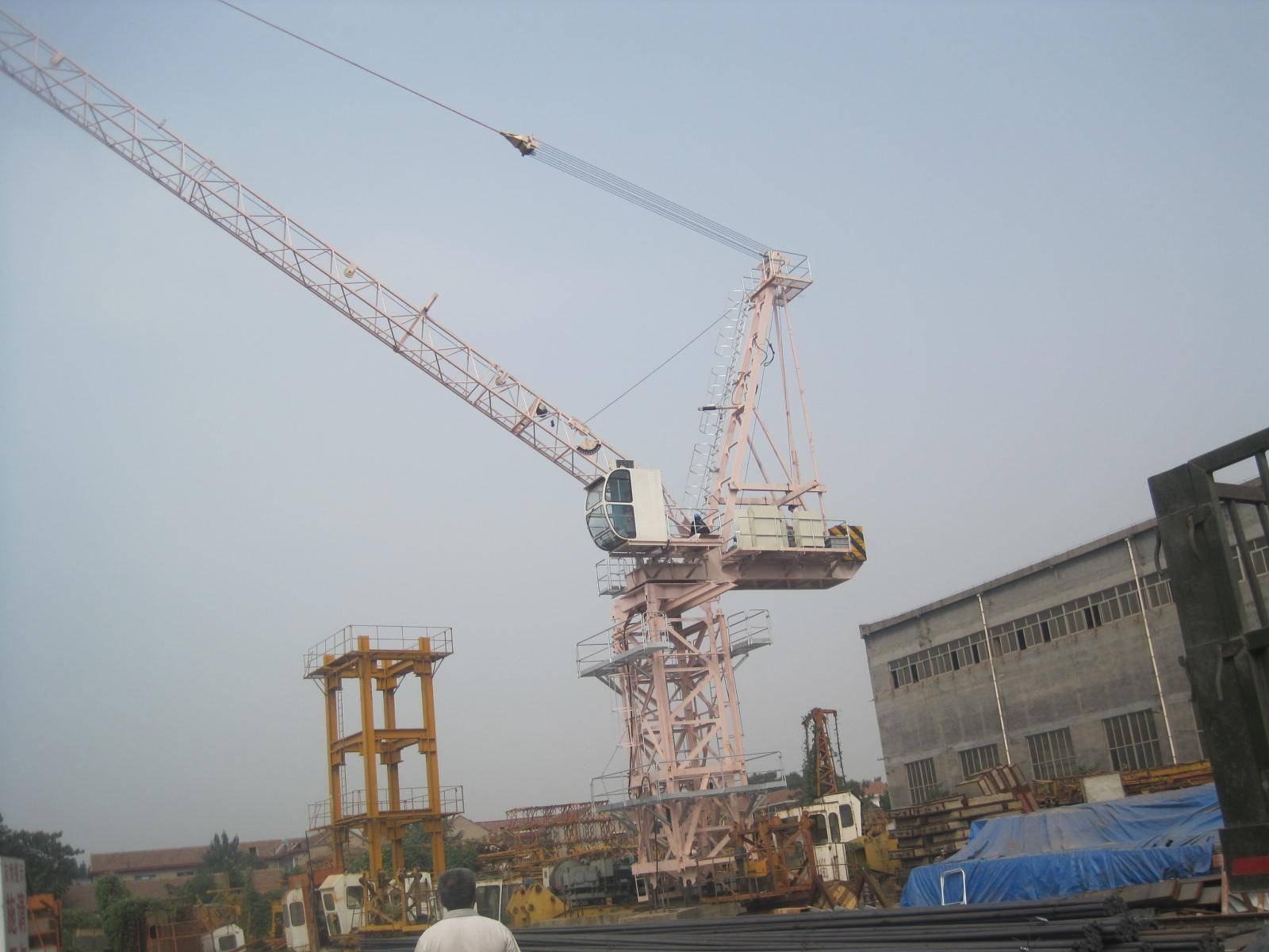 Luffing Tower Crane L85 max load 6t