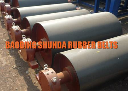 Bend pulley, Tail pulley Heavy Duty Belt Conveyor Pulley