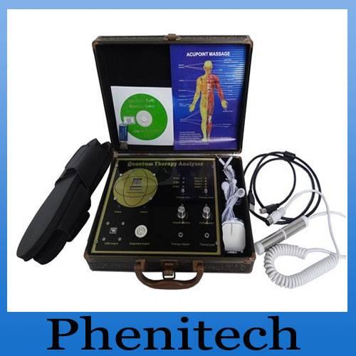 Quantum magnetic analyzer with Herbalist Doctor health analyzer