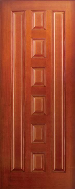 flush wooden door design