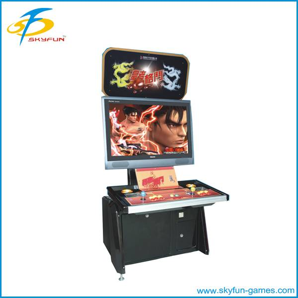 Amusement fighting cabinet machine