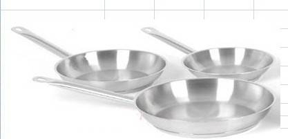 3pcs stainless steel frpan