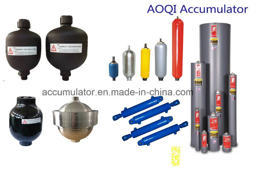 hydraulic pressure accumulator (diaphragm ,bladder type)