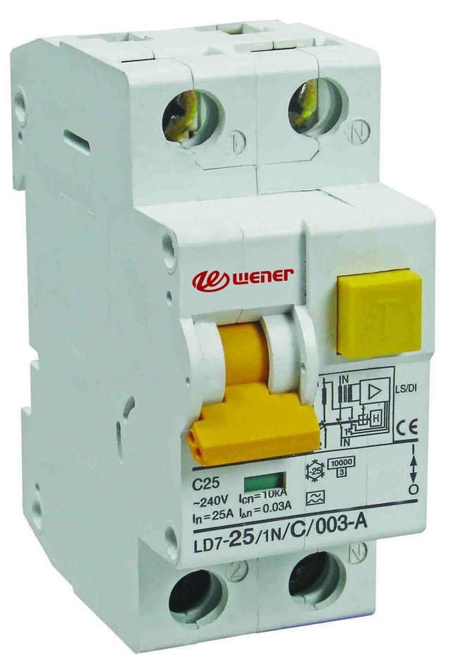 RKN PFIM FIN LD7 F7 RCCB RCD ELCB circuit breaker