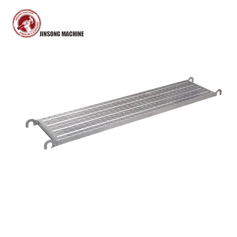 Anti Slip Scaffolding Steel Plank Platform Board Catwalk with hook