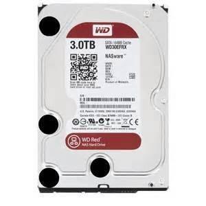 Western Digital WD30EFRX WD Red 3TB NAS Internal HDD 3.5 Desktop Hard Drive Disk