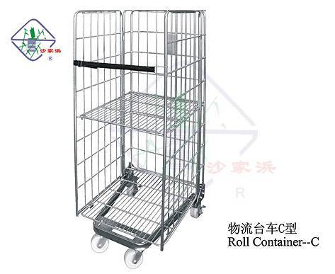roll container/logistic trolley/table trolley/roll box pallet