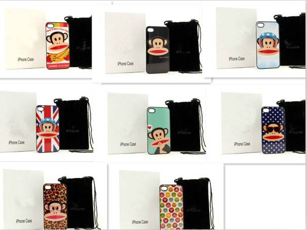 Mobilephone case Paul Frank phone filp cover