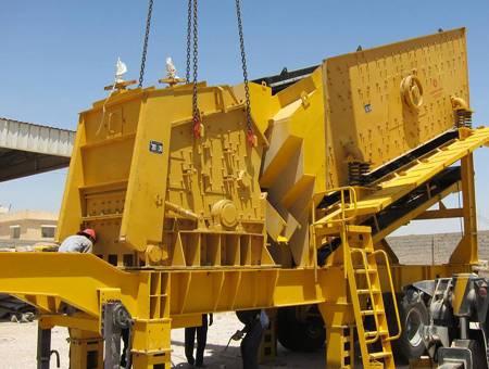 Mobile Impact Crusher Crushing Plant