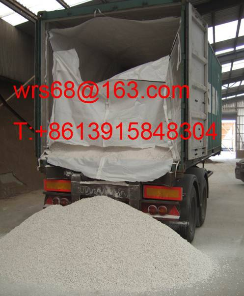 PP/PE woven dry bulk container liner bag for rice