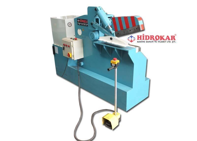 hydraulic scrap shear