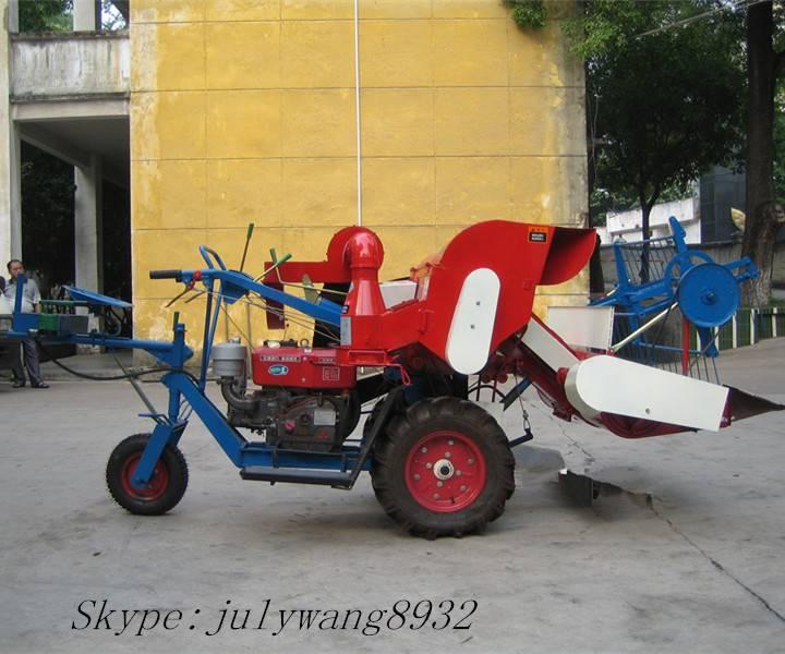 Mini rice combine harvester 4L-0.5