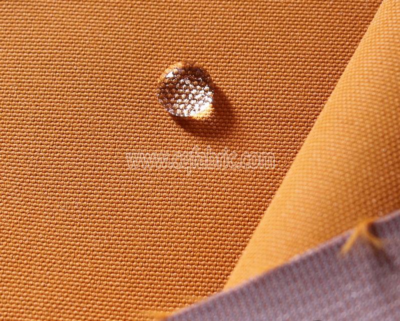420D nylon oxford pu coated DWR for rainwear covers bags OOF-116