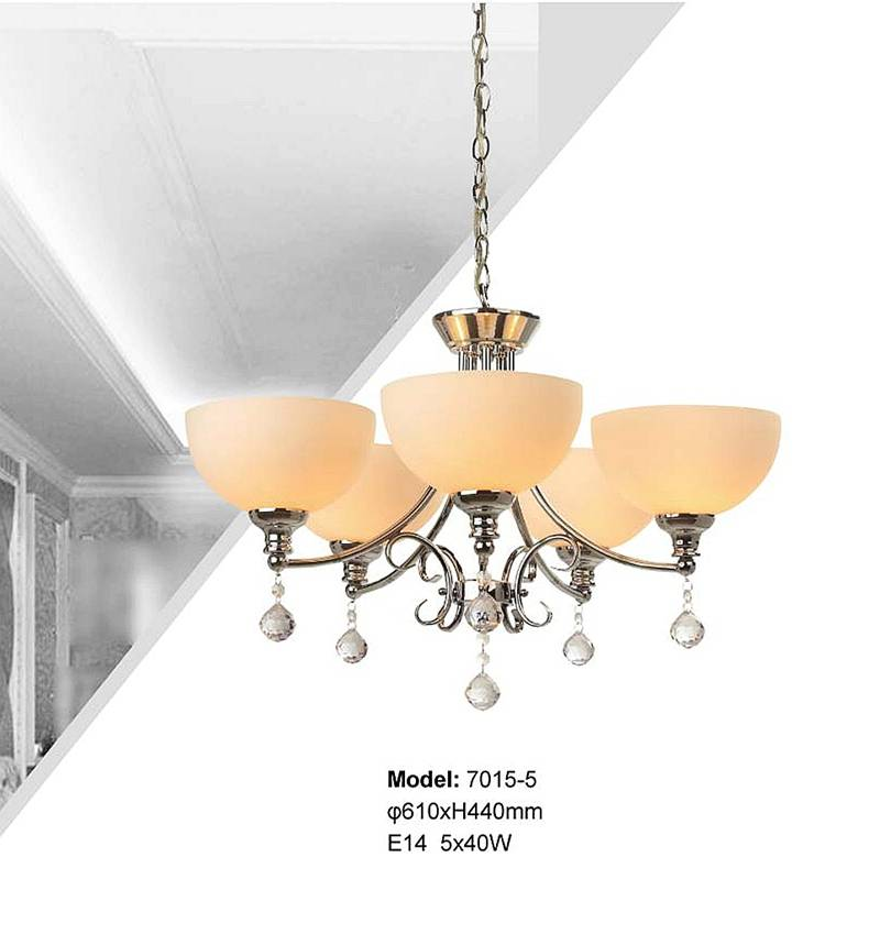 offer 5-head classical chandeliers