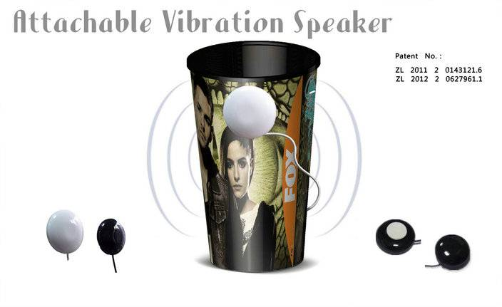 sale mini cup speaker and vibration music speaker and mobile speaker