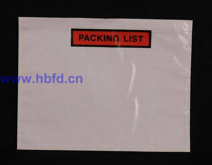 self-adhesive labelopes
