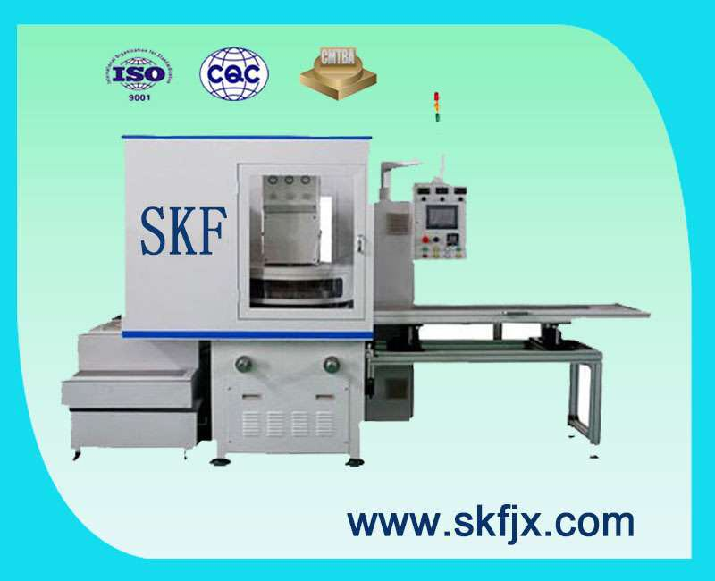 High precision double sided end surface grinding machine