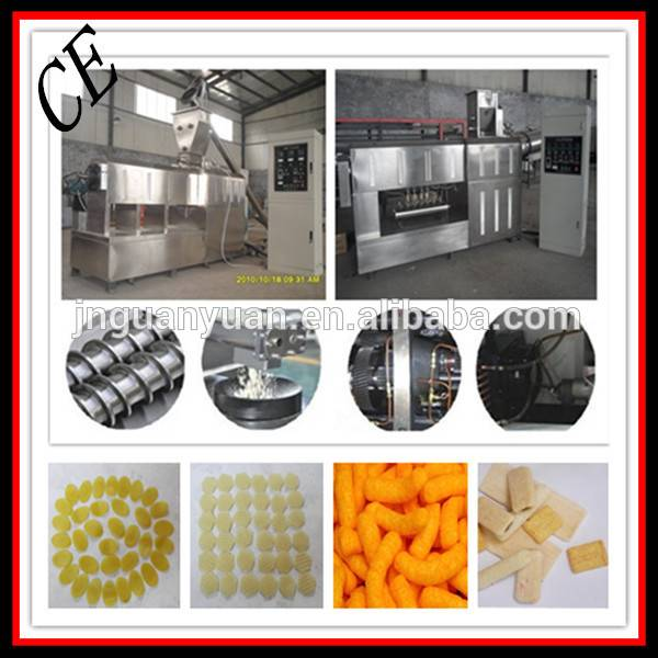 Multi-functional Snack Food Machinery Extruder for Twin and Single Screw