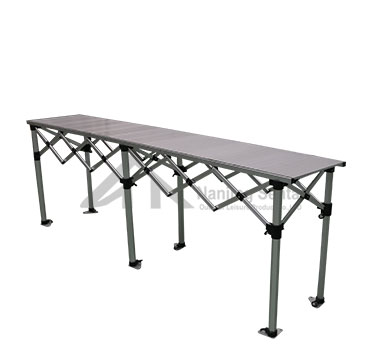 Folding Table With Aluminum Top