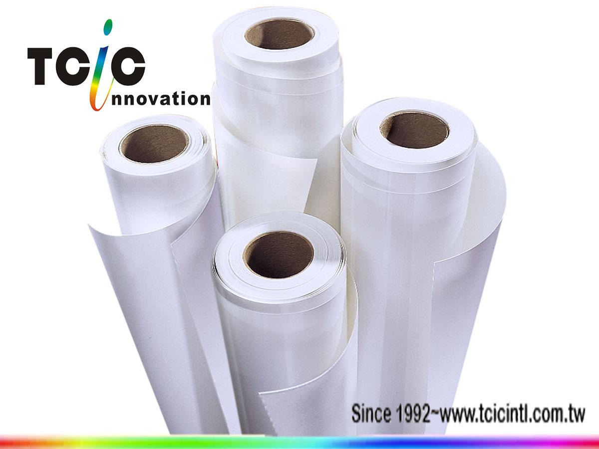 Inkjet printed solvent PP film/ roll