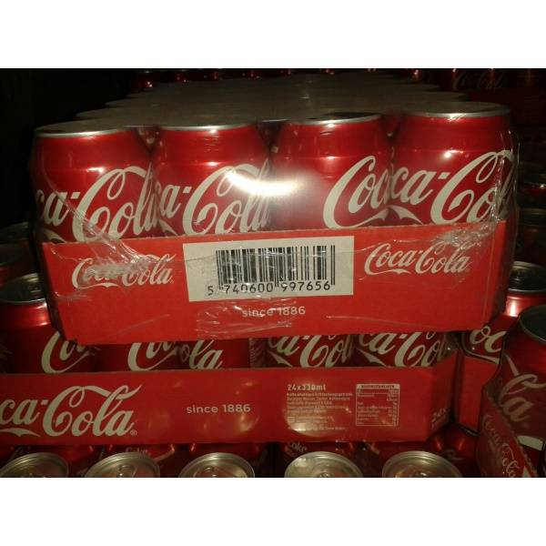 COCA COLA BOTTLE PLASTIC FRENCH 1.5 LITERS PER PACK OF 6