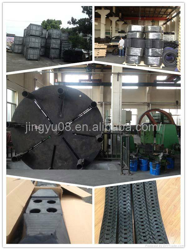 Hot selling China leading Snow-blower/Removal/sweeper Rubber Track