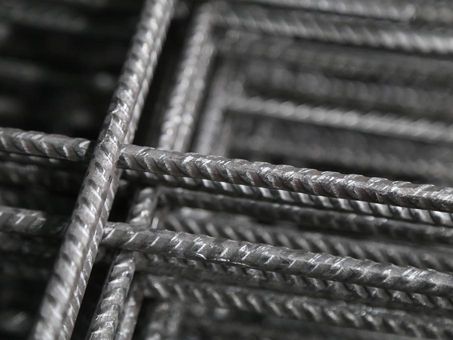 Steel wire mesh for tunnel support