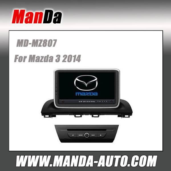 Manda 2 din car dvd for Mazda 3 2014 car dvd gps navigation in-dash head units multimedia system aut