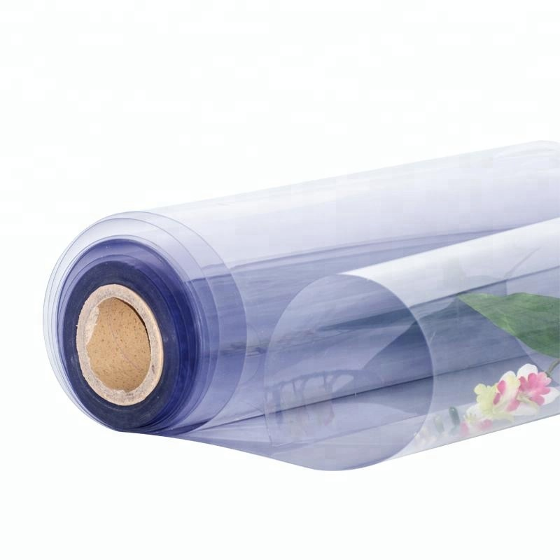 Customized 0.4mm Polyvinyl Chloride Super Clear PVC Film Roll For Blister Packaging