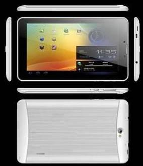 7 inch MTK8312 Dual Core 3G Phone Calling Low Cost Android Metal Housing Tablet PC