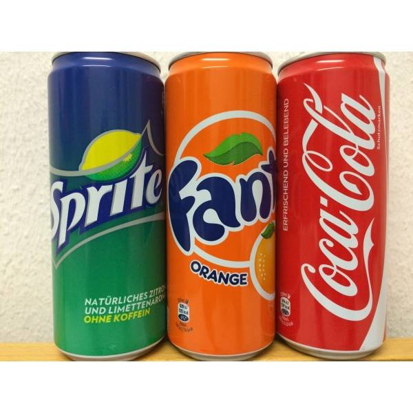 SOFT DRINKS - SOFT DRINK COCA COLA - FANTA- SPRITE..