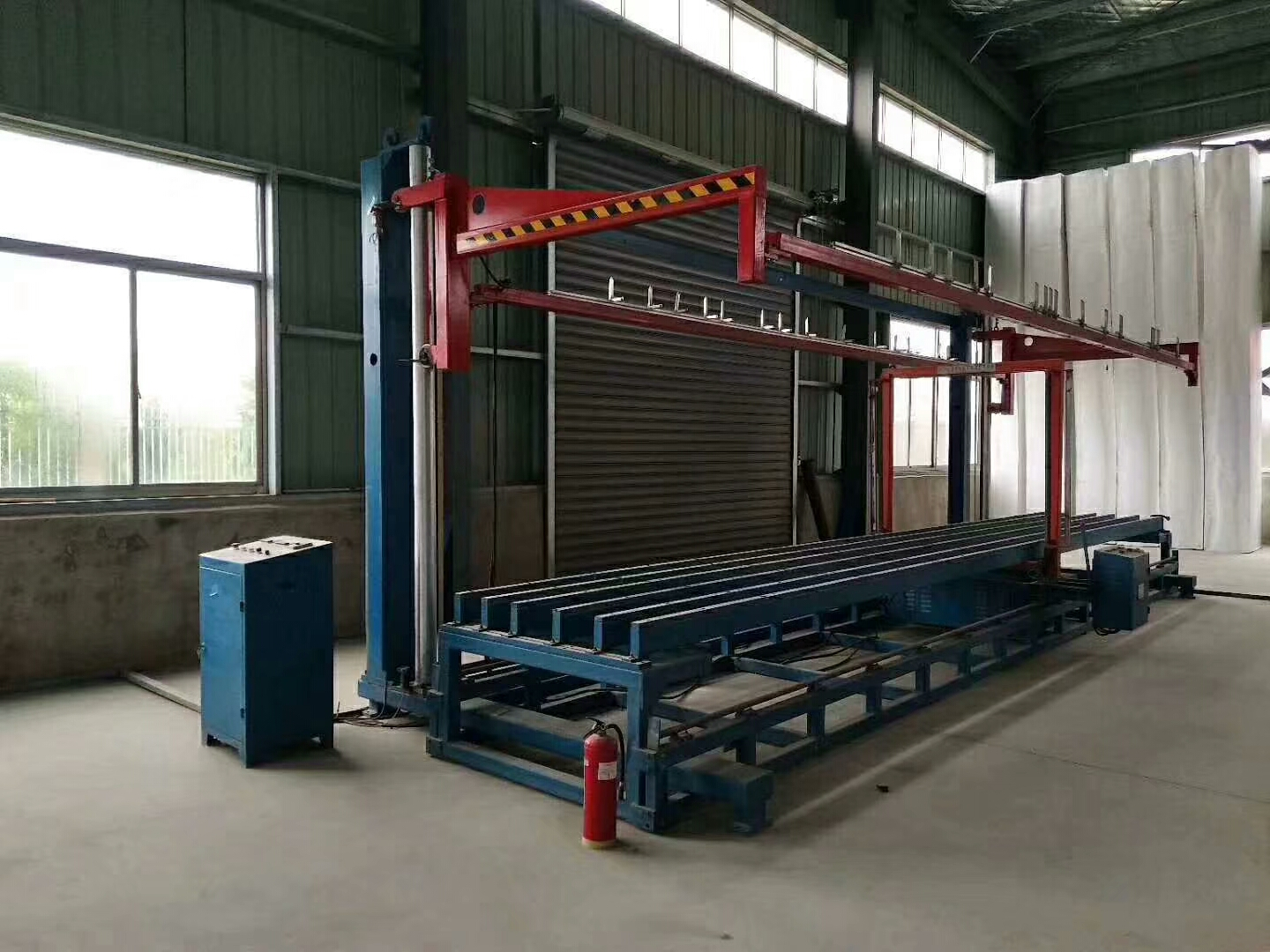 SELL second hand china eps machine,guangxing 6 Meter automatic EPS cutting machine