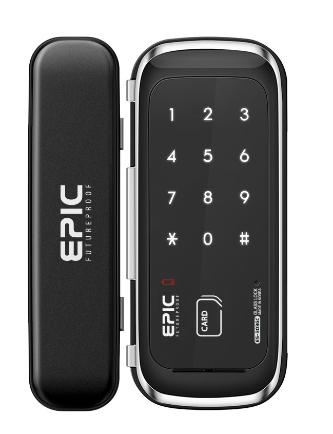 Epic ES-303 GC Glass Digital Door Lock