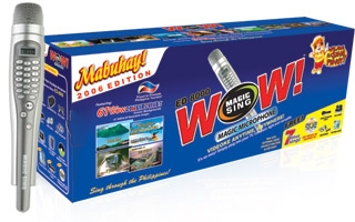 Entertech Wow Magicsing 2064 Songs Edition with Philippine Picture Background. Made in Korea
