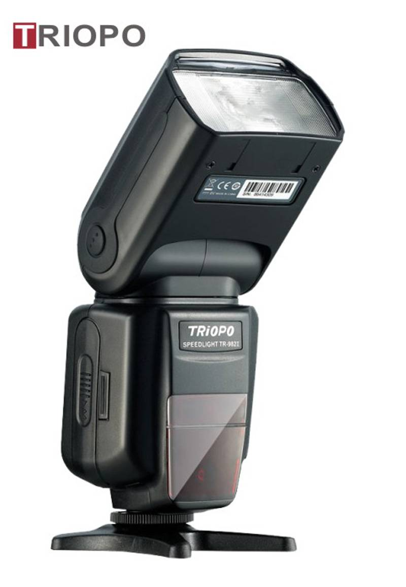 TRIOPO TR-988 camera flash light ,speedlite with TTL , flash gun with universal mount and auto zoom
