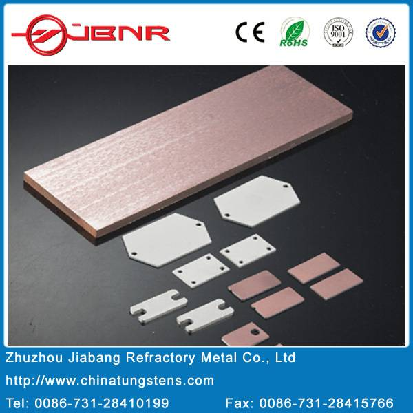 Molybdenum Copper Alloys Molybdenum Copper Heat Sink
