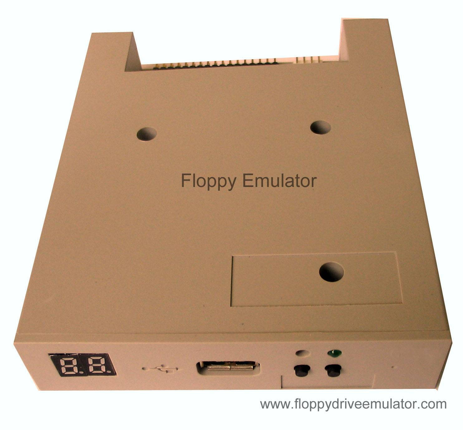 Usb floppy driver emulator