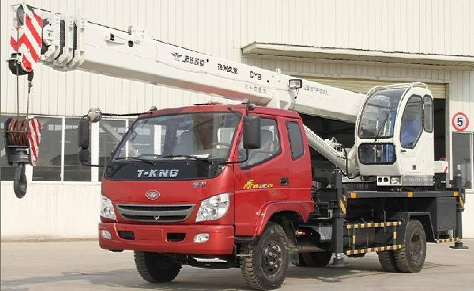 8ton truck crane (T-King chassis)