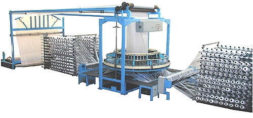 circular loom and PP woven bag making machine