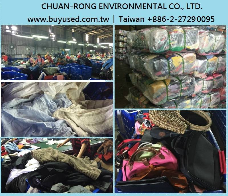 we are second hand clothes supplier in Taiwan