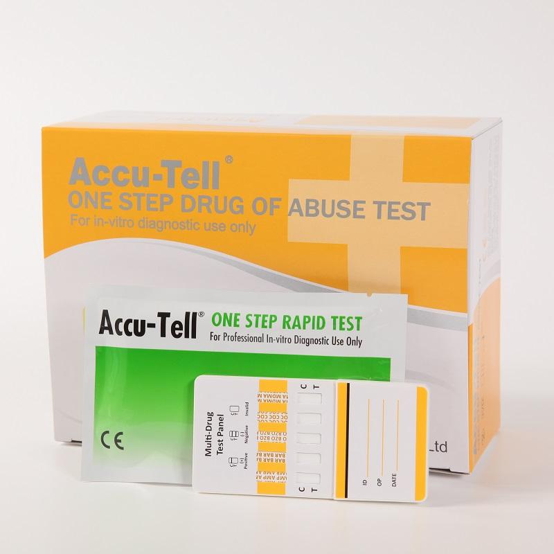 Accu-Tell®Multi-Drug Rapid Test Panel (Urine)