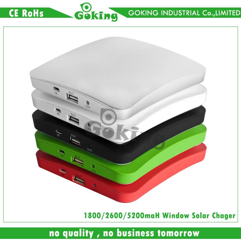 Portable Window Stickers Solar Charger