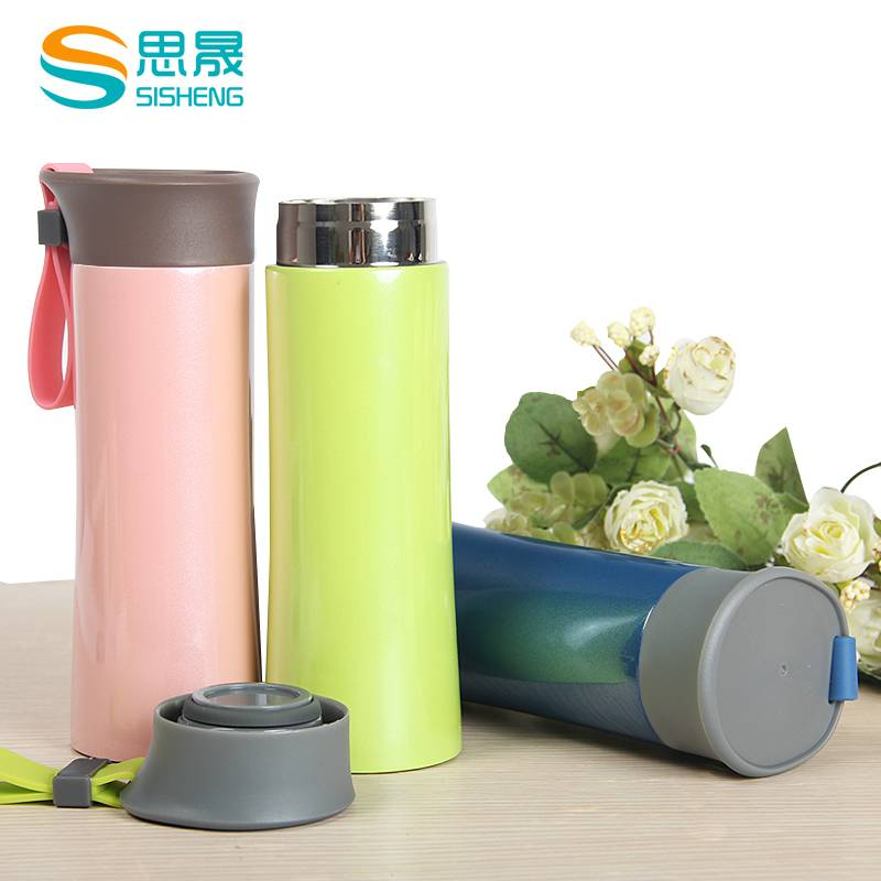 light vacuum flask with food grade PP lid