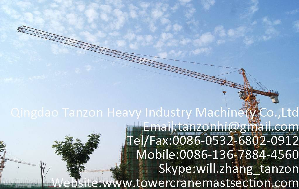 Self Climbing Tower Crane 140m For Civil Buildings,crane manufacturer,crane supplier