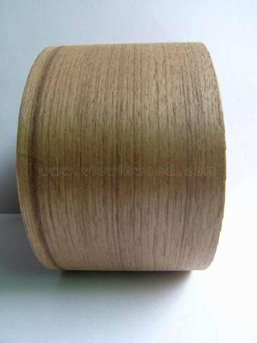 burma teak veneer edge banding(tape veneer rolls)