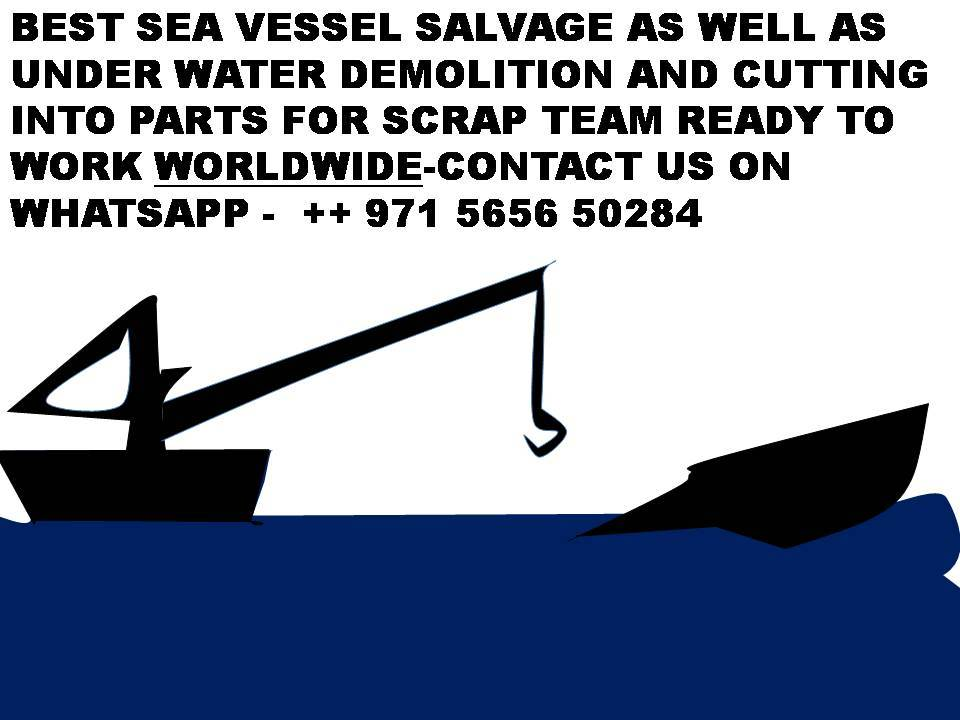 Barge wanted for scrap